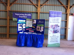 Booth at Oro Fair 2014